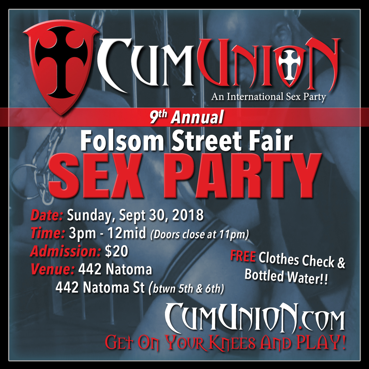 9th Annual Folsom Street Fair CumUnion Sex Party