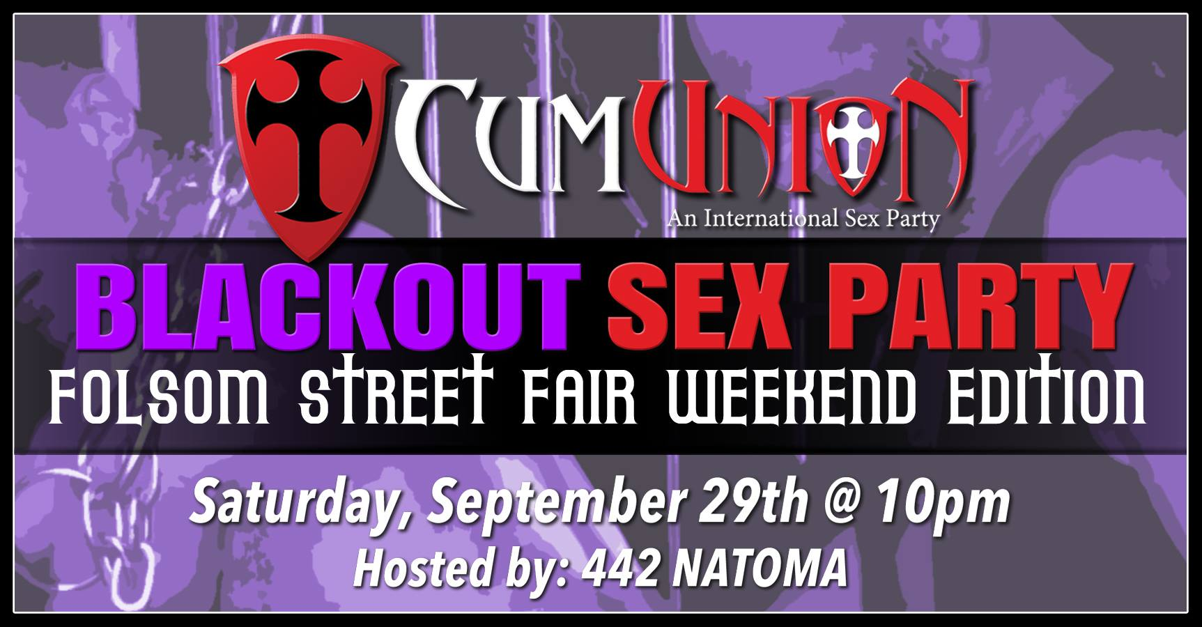 CumUnion Blackout Sex Party Folsom Street Fair Weekend Edition