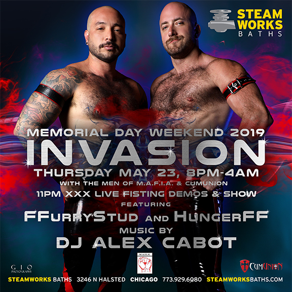 Steamworks Chicago - Thursday, May 23rd Event